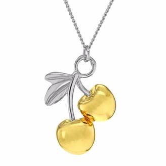 True Rocks Cherries Two Tone Necklace