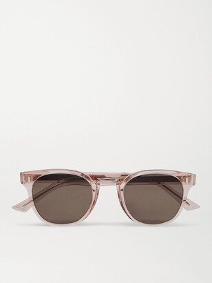 Cutler & Gross Round Frame Acetate Sunglasses - Men - Pink