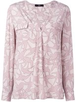 Steffen Schraut floral pattern blouse