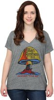 Trunk Ltd. Trunk womens Allman Brothers Band Gray Triblend Burnout Juniors T-Shirt