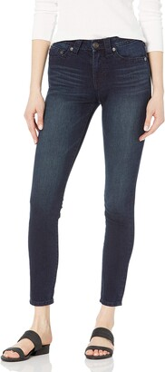 True Religion Womens Halle Big T Mid Rise Super Skinny Fit Jeans