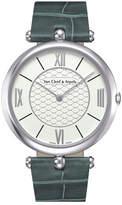 Van Cleef & Arpels Pierre Arpels White Gold Watch, 42mm