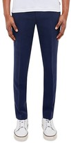 Ted Baker Regular Fit Textured Tencel Trousers