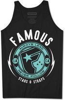 Famous Stars & Straps Men's Graphic Print Cotton Tank