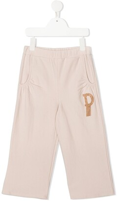 Douuod Kids Embroidered Logo Track Pants
