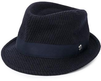 Tagliatore Logo-Plaque Fedora Hat