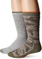 Wolverine Men's 2 Pack Full Cushion Camo Boot Sock
