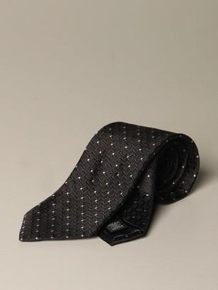 Ermenegildo Zegna Silk Tie With Pattern