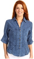 Scully Nadine Blue Women's Clothing