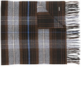 DSQUARED2 checked scarf - men - Silk/Cashmere - One Size
