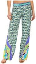 Trina Turk Shangri La Wide Leg Pants Cover-Up