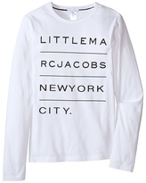 Little Marc Jacobs Resort - Long Sleeve Essential Tee Shirt (Big Kids)
