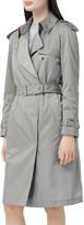 Burberry Oban Bridstow Nylon Trench Coat