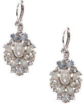 Marchesa Bohemian Dream Swarovski Crystals Drop Earrings