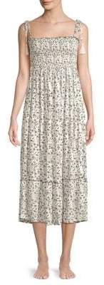 Cool Change Piper Ruched Midi Dress