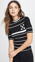 Off-White Off White Knit Basic Arrow T-Shirt
