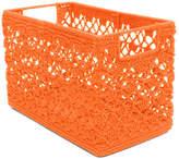 Heritage Lace Mode Crochet Wire Basket