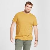 Goodfellow & Co Men's Big & Tall Standard Fit Short Sleeve Crew T-Shirt - Goodfellow & Co - Gold Leaf