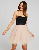 Dotti Strapless Princess Skater Dress