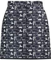 Thom Browne Jacquard-Knit Mini Skirt