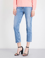 A Gold E AGOLDE Cigarette straight cropped high-rise jeans