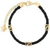 Versace Greca Key woven bracelet