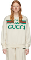 Gucci Off-White Vintage Logo Sweatshirt