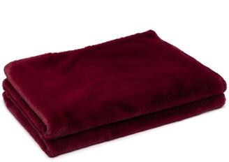 Apparis Brady faux-fur blanket