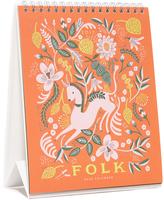 Rifle Paper Co. Folk 2017 Desk Calendar