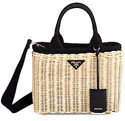 Prada Women's Small Basket Tote