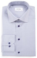 Eton Men's Big & Tall Slim Fit Print Dress Shirt