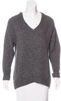 Alexander Wang V-Neck Long Sleeve Sweater