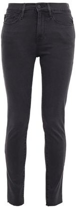 Frame Le Skinny De Jeanne Faded High-rise Skinny Jeans