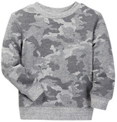 Joe Fresh Long Sleeve Printed Sweatshirt (Toddler & Little Boys)