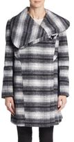 Sam Edelman Striped Wool-Blend Coat