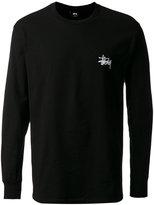 Stussy logo print longsleeved T-shirt