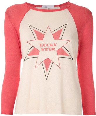 Nk printed Gabriela raglan T-shirt