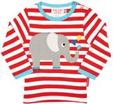 House of Fraser Toby Tiger Babies elly applique t-shirt