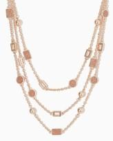 Charming charlie Sasha Triple Strand Necklace