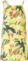 Cia.Maritima Cia Marítima floral print mini dress