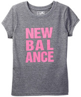 New Balance Logo Tee (Big Girls)