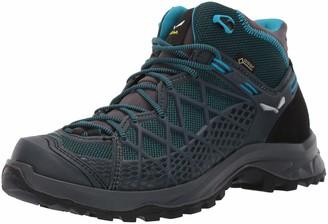 Salewa WS Wild Hiker Mid Gore-TEX Trekking & hiking boots Women's Blue (French Blue/Black) 4.5 UK