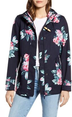 Joules Coast Floral Print Waterproof Jacket