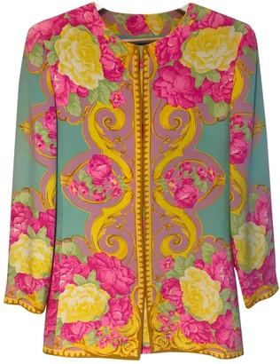 Genny Multicolour Silk Jacket for Women