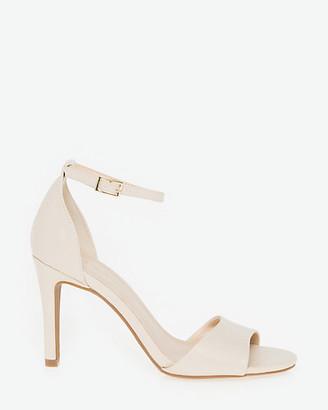 Le Château Faux Leather Ankle Strap Sandal