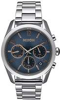 Nixon Women's Analogue Watch with Blue Dial Analogue Display and Stainless steel plated gun metal - A949 - 2195-00