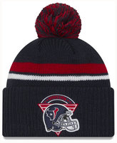 New Era Houston Texans Diamond Stacker Knit Hat