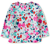 Joules Baby/Little Girls 12 Months-3T Marina Floral Jersey Top