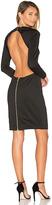 Blaque Label Backless Dress in Black