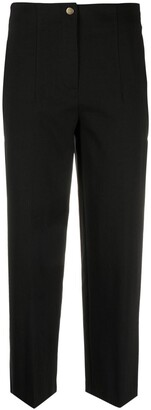 Merci Cropped Cotton-Blend Trousers
